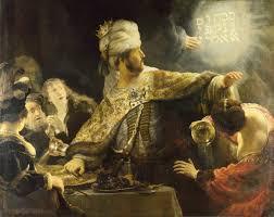 English Classics Featuring Belshazzar's Feast